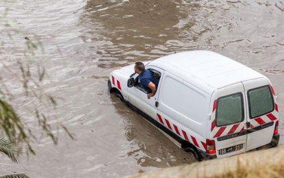 Tunisie-Fortes pluies : Consignes de prudence aux usagers de la route