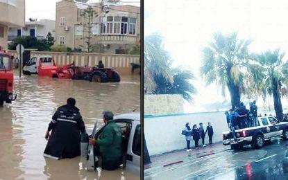 Inondations au Sahel : Police et armée en renfort
