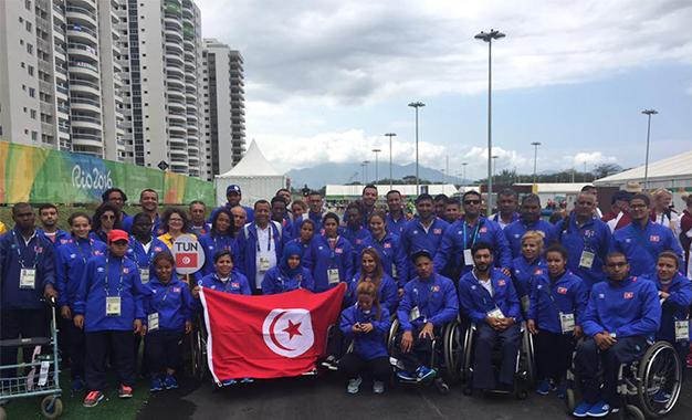 Jeux paralympiques Rio Tunisie