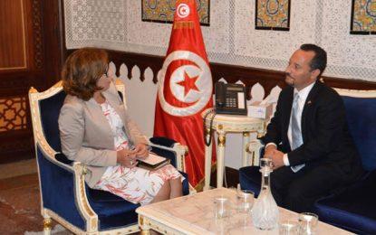 Tunisie – Etats-Unis : Lamia Boujnah Zribi reçoit Daniel Rubinstein