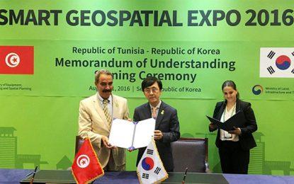 Tunisie-Corée du Sud : Coopération dans le domaine des données géospatiales