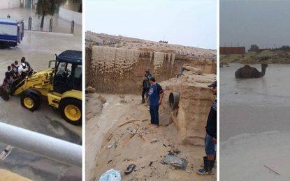 Tozeur : Pluies torrentielles et inondations à Nefta