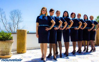 Nouvelair : Nouvel uniforme pour le personnel navigant féminin