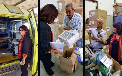 Tozeur : Samira Meraï remet sa blouse de médecin