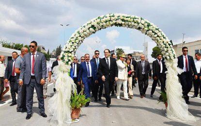 Ariana : Youssef Chahed inaugure l'échangeur de Mahmoud El-Matri