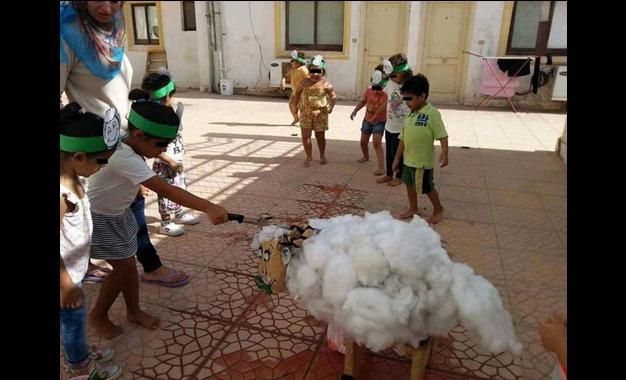 Tunisie on apprend aux enfants gorger les moutons rectif kapitalis - Jardin d enfant en tunisie ...