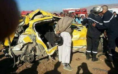 Jendouba: Cinq morts dans la collision d'un train et d'un taxi