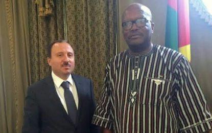 Bassem Loukil reçu par le président Kaboré