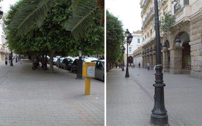 Le centre-ville de Tunis nettoyé des commerces non autorisés