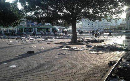 Centre-ville de Tunis : Heurts entre policiers et contrebandiers