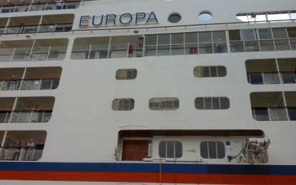 Tourisme maritime : L'Europa fait escale à la Goulette