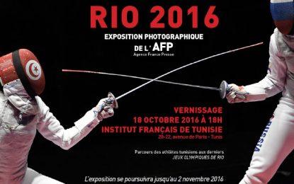Expo photos à l'IFT : Parcours des athlètes tunisiens à Rio