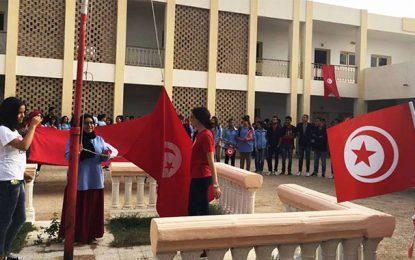 Lycée pilote de Gafsa : Le drapeau national brûlé, les élèves montent au créneau