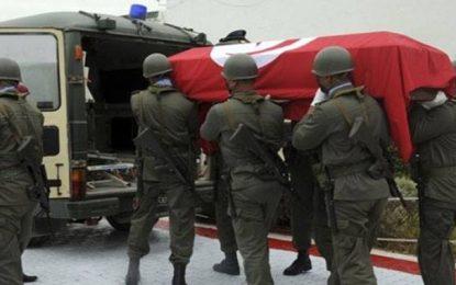 Grades posthumes pour les soldats tués en août 2015 au mont Samama