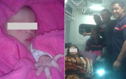 Kairouan : Des pompiers aident une femme à accoucher