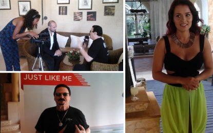 Chanson : Bobby Kimball et Luyanna en tournage en Tunisie