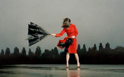 Alerte météo :  Pluie, vents et orages
