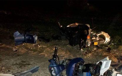 Mahdia: Un automobiliste en excès de vitesse tue 4 jeunes hommes