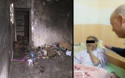Manouba : Mobilisation pour une dame vivant parmi les ordures