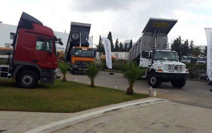 Le camion tout-terrain Mercedez-Benz Zetros bientôt en Tunisie