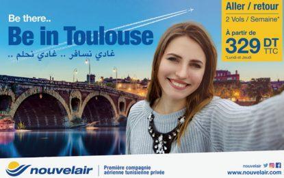 Nouvelair ouvre une ligne directe entre Toulouse e Tunis
