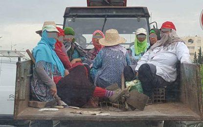 Kairouan : Sept ouvrières agricoles blessées dans un accident