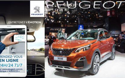 Stafim Peugeot étend son service de rendez-vous en ligne