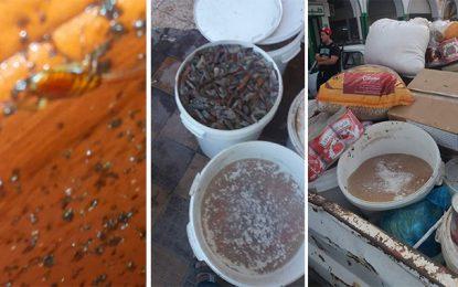 Sfax : Saisie de 3 tonnes de produits alimentaires à Sakiet Ezzit