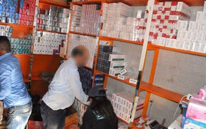 Un million de dinars de tabac de contrebande saisi à Tunis