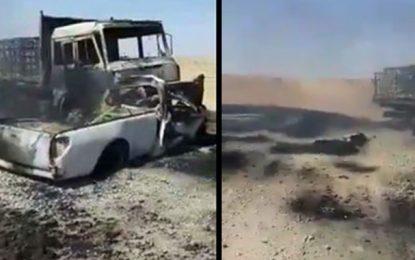 Trois hommes morts dans un accident à Tataouine