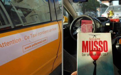 YallaRead : Le taxi qui incite à la lecture