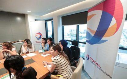 Coup de main de Total Tunisie aux femmes en quête d'emploi