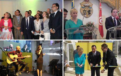 Tunis : Cérémonie de réouverture de l'ambassade de Suède