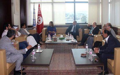 Une délégation d'investisseurs qataris reçue à l'Utica