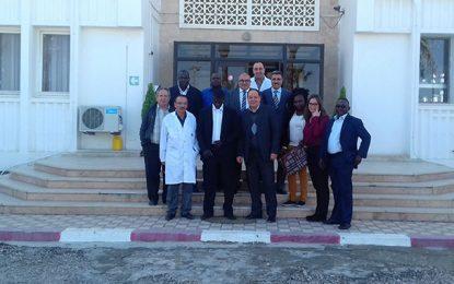 Sousse : Une délégation du Burkina Faso au siège des AMS
