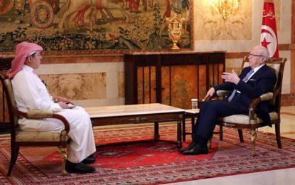Caïd Essebsi à Al-Arabiya: «J'ai évité à la Tunisie un bain de sang»