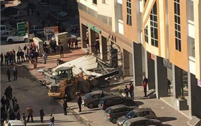 Ennasr : Démolition des terrasses illégales