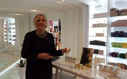 PW La Marsalanceen Tunisie la collection de jouvence Estée Lauder