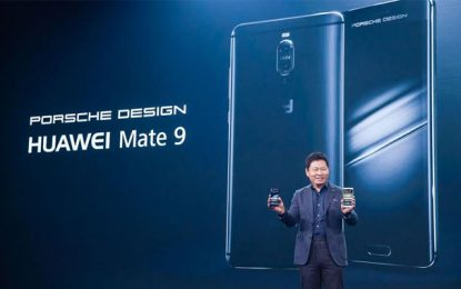 En édition limitée : Le smartphone Mate 9 Huawei Porsche Design