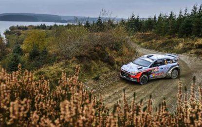Hyundai Motorsport arrache à 2e place au Rally WRC du Pays de Galles