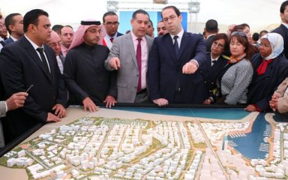 Raoued : Inauguration du projet de Port Financier de Tunis