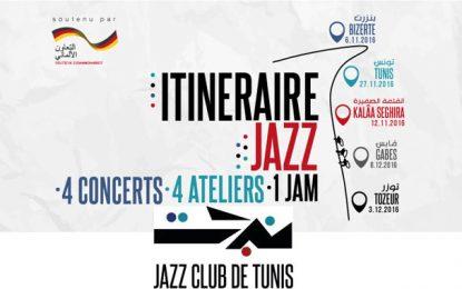 « Itinéraire Jazz » dans 5 villes tunisiennes