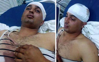Kairouan : Hamdi, un policier attaqué à la hache !
