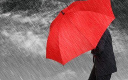 Alerte météo : Pluies, vents et orages dans la plupart des régions et chutes de grêle par endroits