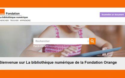 La Bibliothèque Numérique de la Fondation Orange vous rapproche de l'essentiel