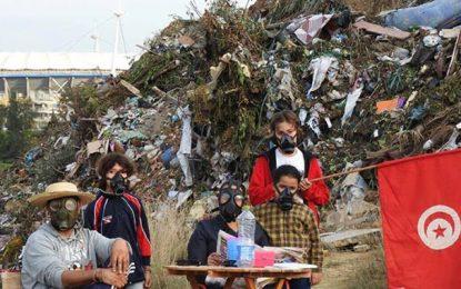 Photos choc : Pour sauver la forêt de Radès transformée en dépotoir