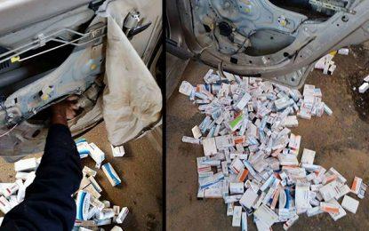 Plus de 23.000 dinars de médicaments saisis à Ben Guerdane