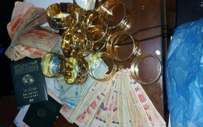 Sfax : Quatre Algériens arrêtés pour trafic d'or