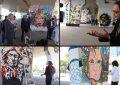 Tunis : Galerie d'art urbain sous le pont de l'Av. de la République