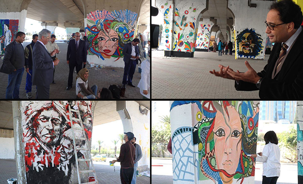 Tunis Galerie D Art Urbain Sous Le Pont De L Av De La